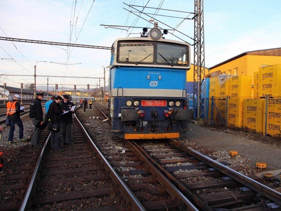 Střet vlaků v Šumperku