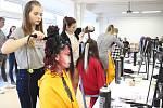 Soutěž kadeřnických učňů Color Cup 2019