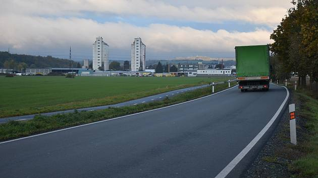 Průmyslová zóna v Zábřehu, v níž má vyrůst závod firmy Wanemi.