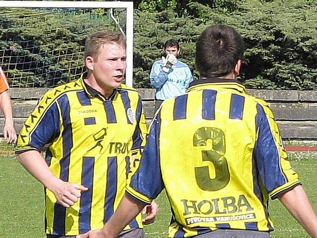 Jiří Smažík (vlevo).