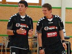 Martin Vobořil (vlevo) a Radek Hejný