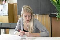 Z prvního dne státních maturit na Gymnáziu Šumperk – 16. května 2011