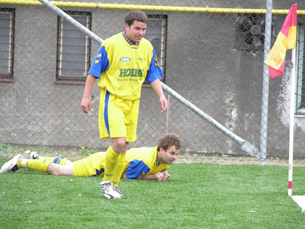 Fotbalisté Šumperku letos do divize opět nepostoupili.