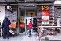 Pošta v Zábřehu.