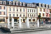 Hotel Slovan v Jeseníku.