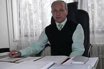 Vlastimil Bořuta, správce nové obce Petrov nad Desnou