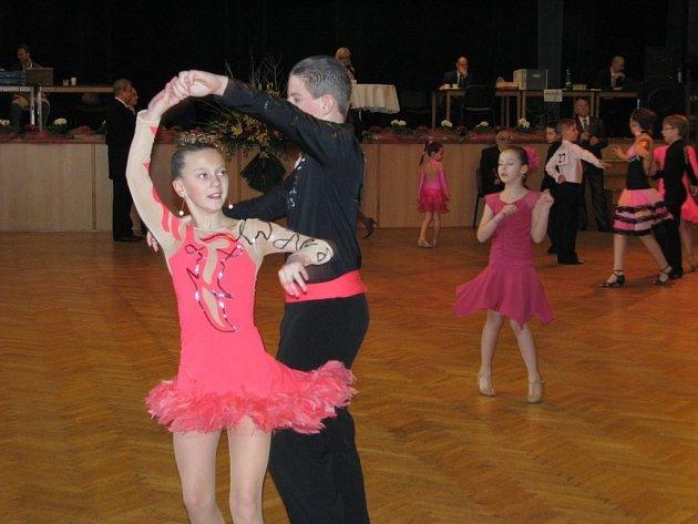 V Šumperku se konala taneční soutěž O pohár města Šumperka.