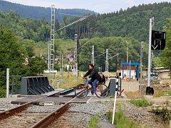 Elektrifikace Železnice Desná. Ilustrační foto