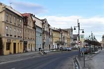 Zlaté Hory. Centrum města