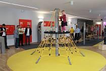 Nově otevřené centrum Bělá v pohybu v Bělé pod Pradědem.