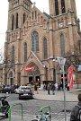Skupina mohelnických skautů při přebírání Betlémského světla ve Vídni