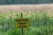 Spor o Polický rybník trvá léta, bez vody je od října 2008
