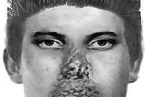 Zhruba takhle vypadá mladík, po kterém pátrá policie v souvislosti se smrtí bezdomovce u šumperského Kauflandu