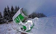 Zasněžování ski areálu v Koutech nad Desnou