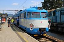 Šumperský žabotlam míří do Prahy na loučení s těmito typy vlaků.