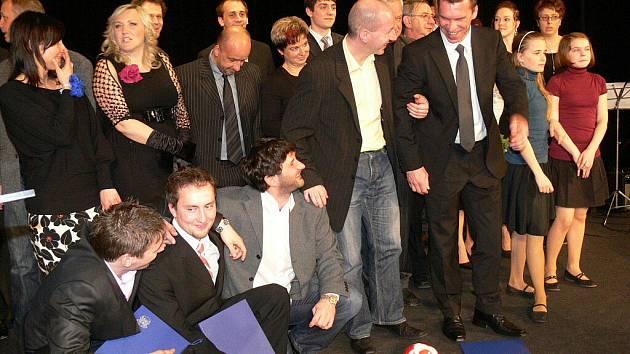 Předávání Cen města Šumperka za rok 2010