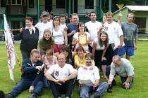 Družstva mužů a žen jindřichovských dobrovolných hasičů
