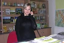 Pracovnice Informačního centra Jesenicka