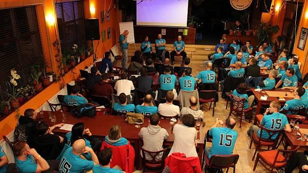 Horská baseballová klinika v Ostružné v lednu 2015.