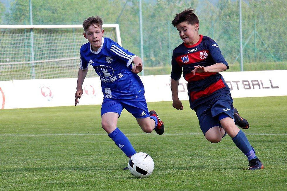 Turnaj mládeže Ondrášovka Cup v Šumperku