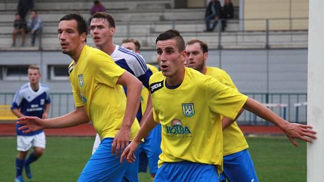 Fotbalisté Šumperku. Ilustrační foto.