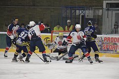 Šumperští hokejisté v předkole play-off proti Kopřivnici -třetí zápas