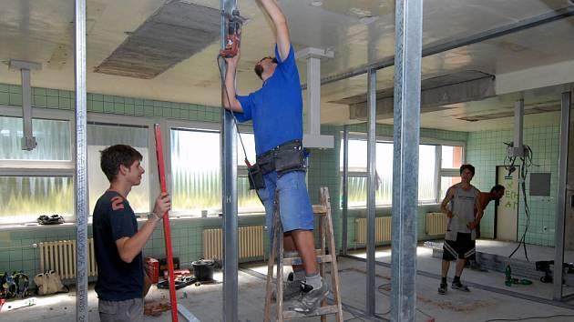 Po rekonstrukci bude porodní oddělení šternberské nemocnice komfortnější.