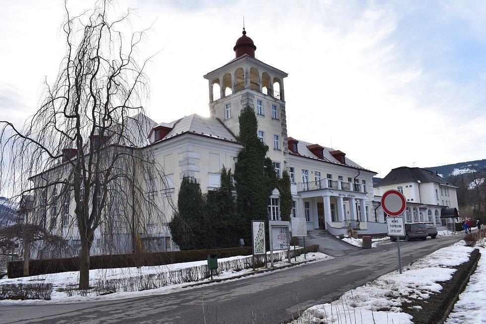 Zlaté Hory. Sanatorium Edel
