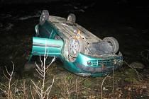 Nehoda mezi obcemi Jedlí a Štíty
