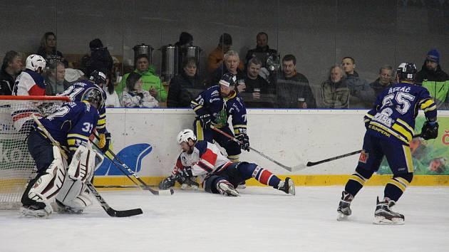 Šumperk porazil Kopřivnici 5:2 a v semifinále si zahraje s Hodonínem.