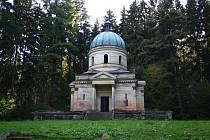 Mauzoleum rodiny Kleinů v Sobotíně.