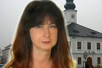 Jana Konvičková (pro koláž použitý její předvolební snímek z roku 2014)