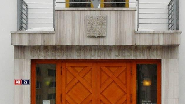 Okresní soud v Jeseníku.