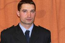 Jakub Kunčar ještě coby policista