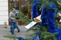 Strom přání v Šumperku.