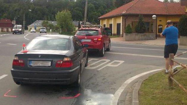 Nehoda ve Vikýřovicích 25.5.