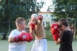 Romský boxerský oddíl v Šumperku.