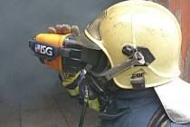 Termokamera zábřežských profesionálních hasičů.
