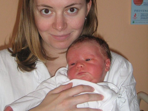 Martin Troubil s maminkou, 29. 10. 2008, Loštice