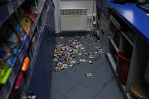 Vloupání do čerpací stanice v Rudě nad Moravou