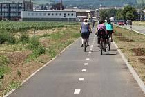 Slavnostní otevření cyklostezky mezi Zábřehem a Leštinou v úterý 25. června.