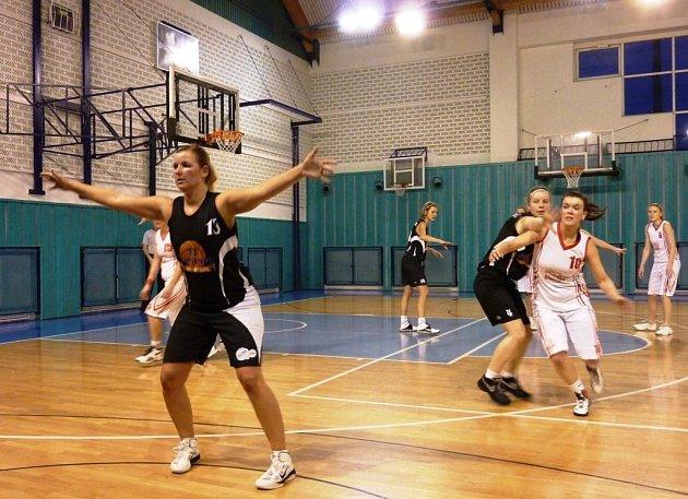Šumperské basketbalistky.