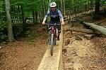 Jestřáb, nově budovaný trail Rychlebských stezek. 22. 5. 2020
