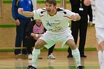 Futsalová radost Delty Real v podání Martina Strnada na archivním snímku