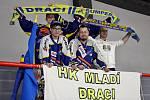 Juniorka Mladých Draků na domácím turnaji