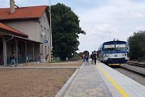 Železniční stanice v Javorníku po rekonstrukci.