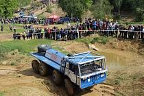 Závody v truck trialu Velká cena Mohelnice 2019