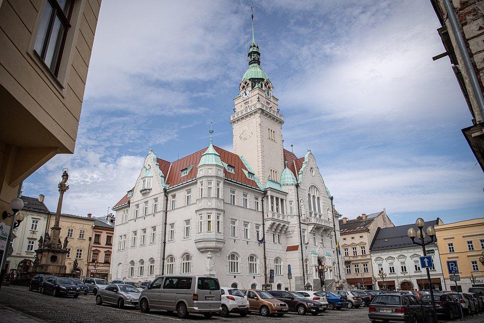 Město Šumperk, 30. března 2021. Radnice.
