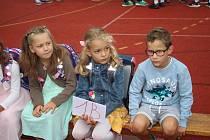 Zahájení školního roku v ZŠ Sluneční Šumperk 2. 9. 2019.