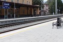 Zrekonstruované nádraží v Jeseníku